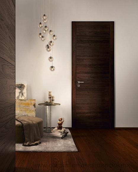 Puertas interiores de madera carpinteria residencial slp for Puertas de madera para interiores