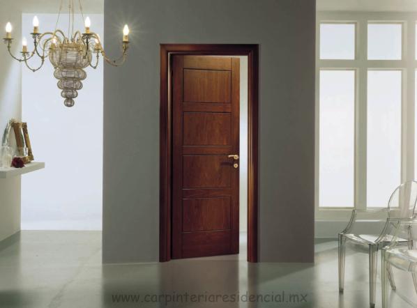 Puertas de madera para interior puertas de madera para for Puertas para interiores baratas