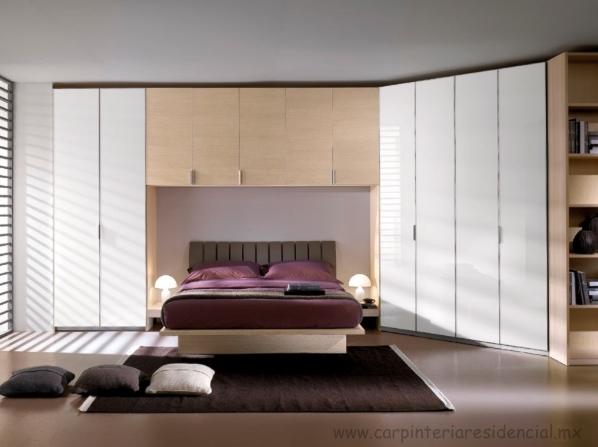 Closets carpinteria residencial slp for Fotos closets para dormitorios