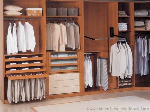 photo collection closets funcionales de madera