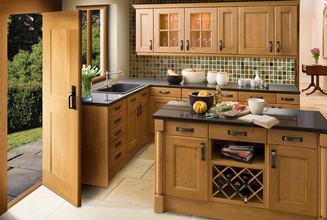Cocinas integrales carpinteria residencial for Cocinas integrales con isla pequenas