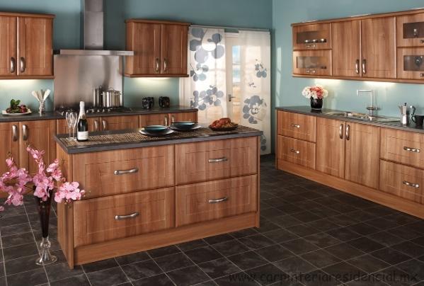 Cocinas integrales carpinteria residencial slp for Cocina integral