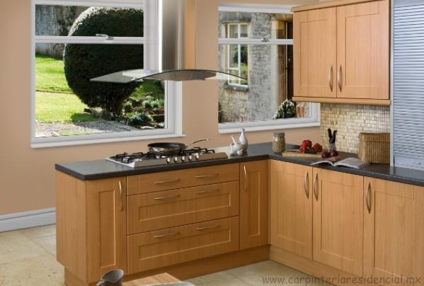 Cocinas integrales carpinteria residencial slp for Cocinas integrales economicas y pequenas