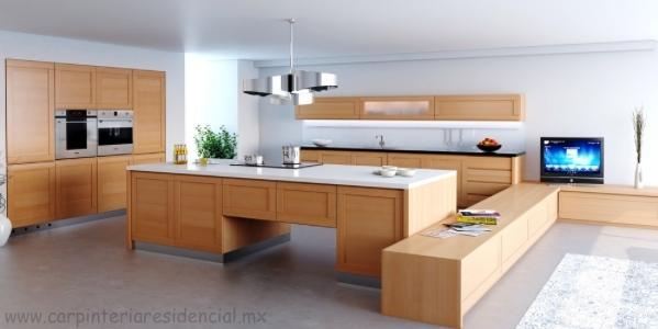 Cocinas integrales carpinteria residencial slp for Cocinas integrales minimalistas