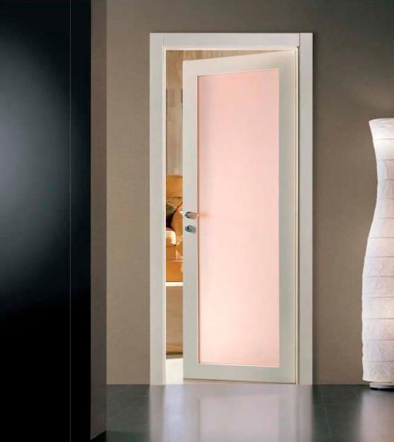 Puertas Blancas Con Vidrio Carpinteria Residencial Slp