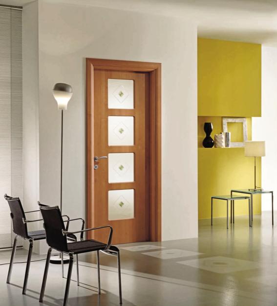 Puertas de madera con vidrio carpinteria residencial slp for Puertas con vidrio y madera