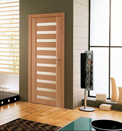 Puertas de madera con vidrio carpinteria residencial slp for Puertas blancas con vidrio