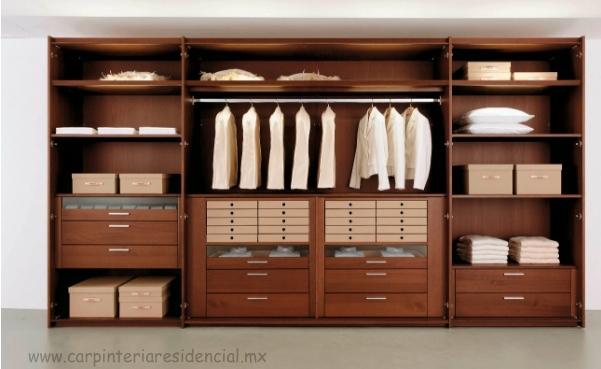 vestidor-abierto-madera-a-medida