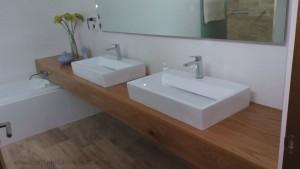 base lavamanos carpinteria madera