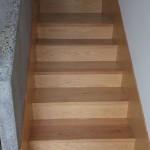 escalera madera de encino slp