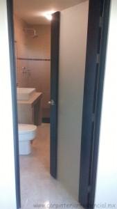 puerta de madera con vidrio san luis potosi