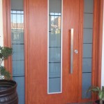 puerta exterior de madera con vidrio san luis potosi