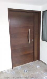 puerta exterior madera san luis potosi
