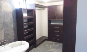 vestidor carpinteria