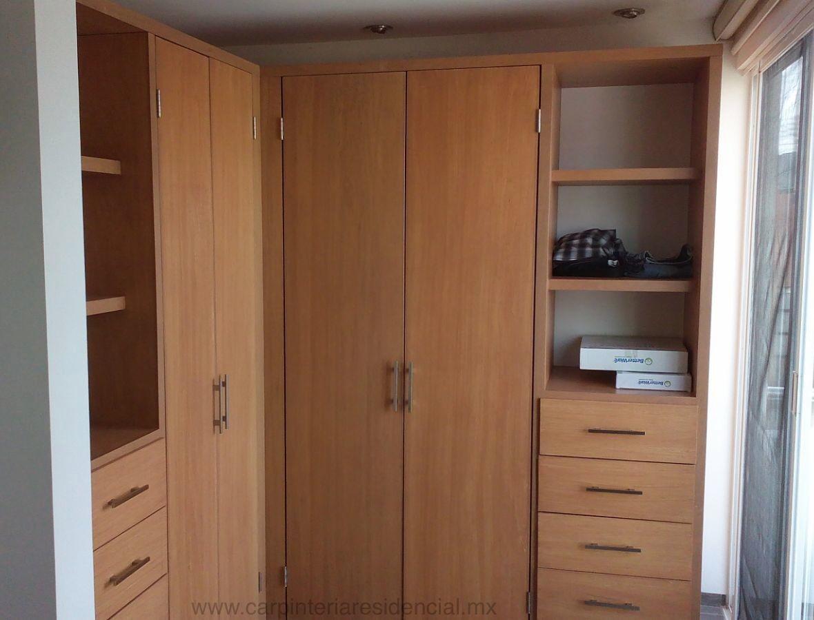 Closets y vestidores carpinteria residencial slp - Armarios en esquina ...
