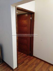 puertas interiores de madera de tzalam carpintero slp