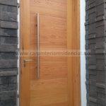 puerta exterior elegante