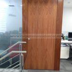 puerta interior sobre diseño