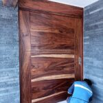 puerta exterior de parota carpinteria san luis potosi
