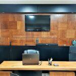 sala de exhibicion tienda carpinteria residencial escritorio renders san luis potosi