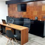 showroom tienda carpintero residencial escritorio renders slp